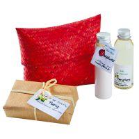 Lait pour le corps goyavier, huile de massage Ylang Ylang, savon de La Réunion