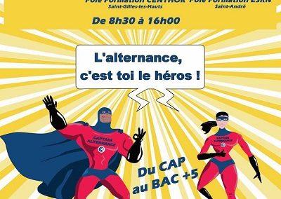 Journées Portes Ouvertes Alternance à la CCI Réunion, 3 journées pour devenir le héros de l'alternance !